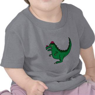 Green Pachycephalosaurus Tee Shirts