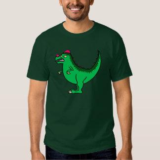 Green Pachycephalosaurus Tshirts