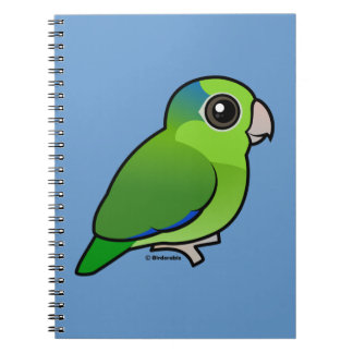 Green Pacific Parrotlet Notebooks
