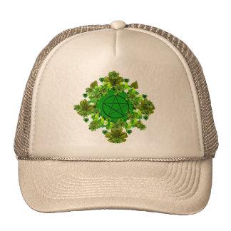 Green Pagan Hats