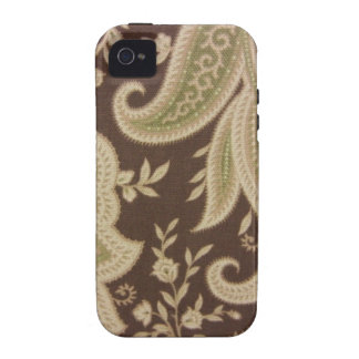 Green Paisley Case-Mate iPhone 4 Cases