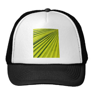 Green Palm Frond Mesh Hat