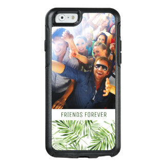 Green Palm Leaves | Add Your Photo & Text OtterBox iPhone 6/6s Case