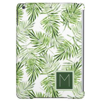 Green Palm Leaves | Monogram