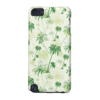 Green Palm Tree Pattern iPod Touch 5G Cases