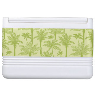 Green Palm Trees Pattern Igloo Cooler