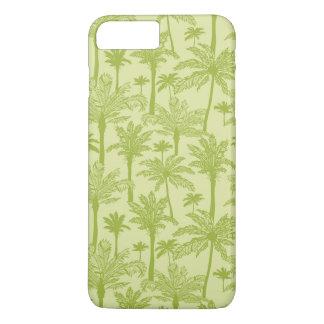 Green Palm Trees Pattern iPhone 8 Plus/7 Plus Case