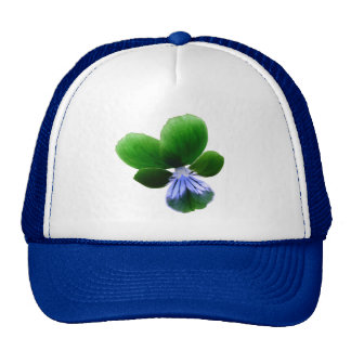 Green Pansy Hat