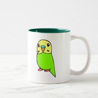 Green Parakeet Mug