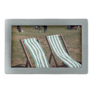 Green Park Deckchairs in Summer Belt Buckle