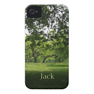 Green Park Personalized Blackberry Bold Case