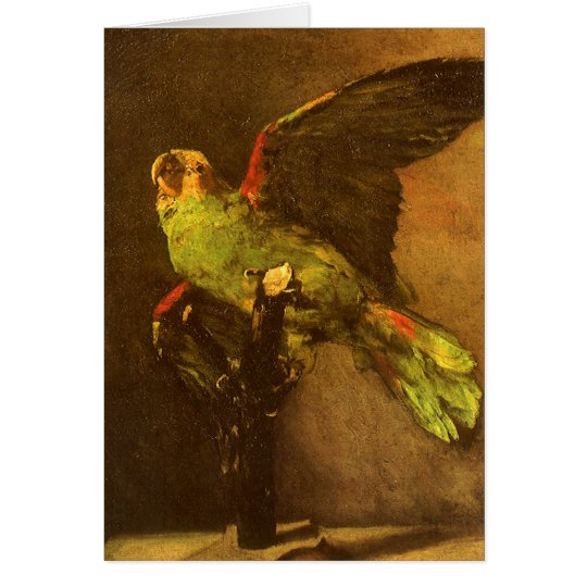 Green Parrot by Vincent van Gogh, Vintage Fine