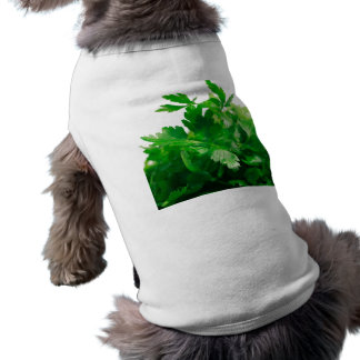 Green Parsley Dog T-Shirt