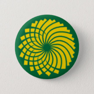 GREEN PARTY 6 CM ROUND BADGE