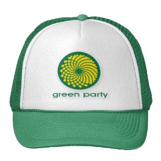 GREEN PARTY CAP