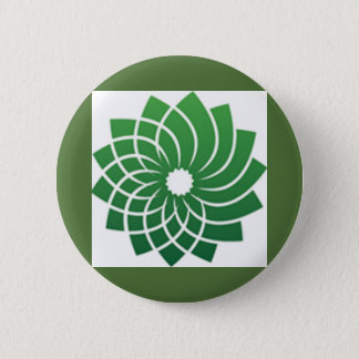 Green Party Logo 6 Cm Round Badge
