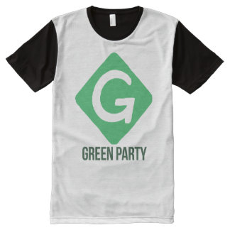 Green Party Logo -- - Jill Stein 2016 - All-Over Print T-Shirt