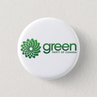 Green Party of Canada Logo 3 Cm Round Badge