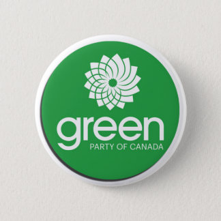 Green Party of Canada Logo 6 Cm Round Badge