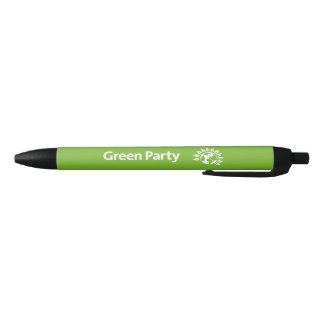 Green Party of England and Wales Black Ink Pen