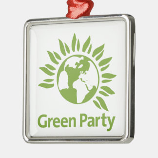 Green Party of England and Wales Christmas Ornament