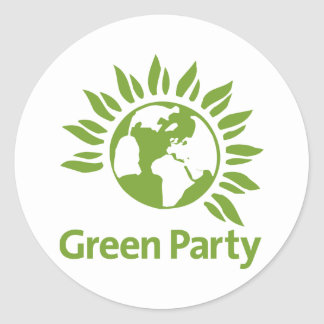 Green Party of England and Wales Classic Round Sticker