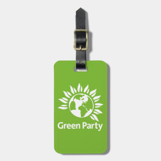 Green Party of England and Wales Luggage Tag