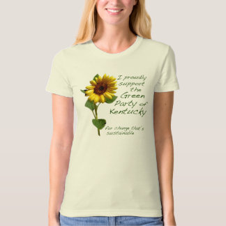 Green Party of Kentucky Tshirt