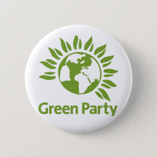 Green Party Pin