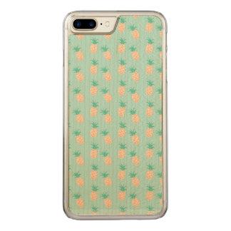 GREEN PASTEL iPhone 6/6s Plus Slim Maple Wood Carved iPhone 8 Plus/7 Plus Case