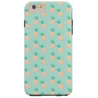 GREEN PASTEL PINEAPPLES iPhone 6/6s Plus, Tough Tough iPhone 6 Plus Case