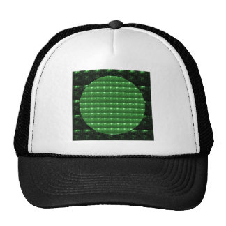 GREEN  Patch: Based  Healing CRYSTAL STONE Trucker Hats