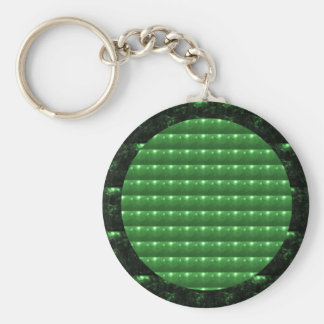 GREEN  Patch: Based  Healing CRYSTAL STONE Keychain