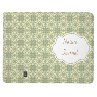 Green Pattern Journal