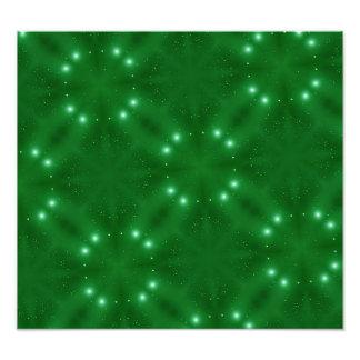 Green Pattern white white dots Photo