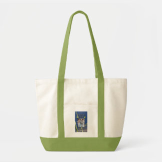 Green Paws Service Dog Tote Impulse Tote Bag