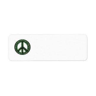Green Peace Return Address