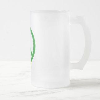 Green Peace & Ribbon Coffee Mug