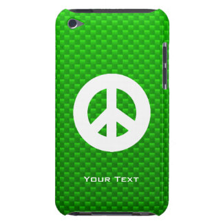 Green Peace Sign Barely There iPod Cover