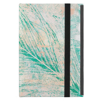 Green Peacock Feather IPad Mini Case