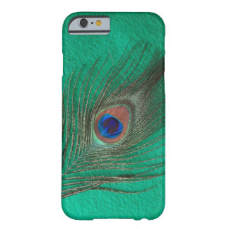 Green Peacock Feather iPhone 6 case Barely There iPhone 6 Case