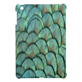 Green Peafowl Feathers iPad Mini Cover