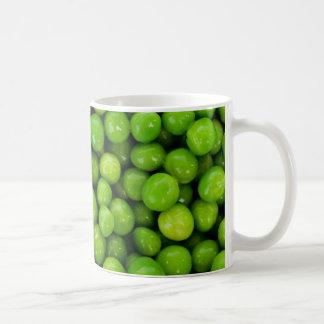 Green peas coffee mug