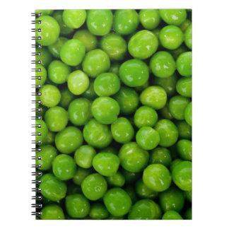 Green peas notebooks