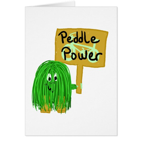 Green peddle power card