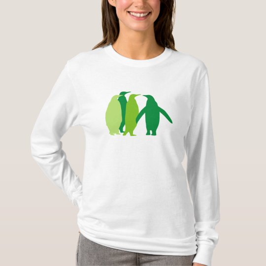 Green Penguins T-Shirt