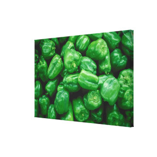 Green Peppers Canvas Prints