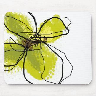 Green Petals - Mouse Pad