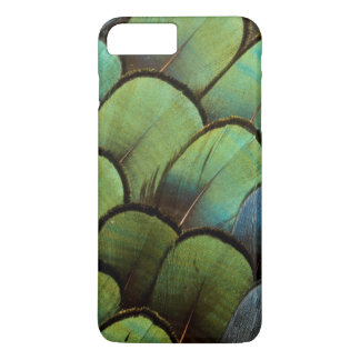 Green pheasant geather pattern iPhone 8 plus/7 plus case