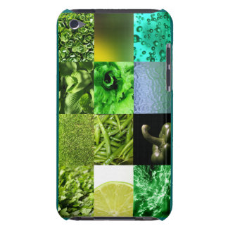 Green Photo Collage ipod Cover